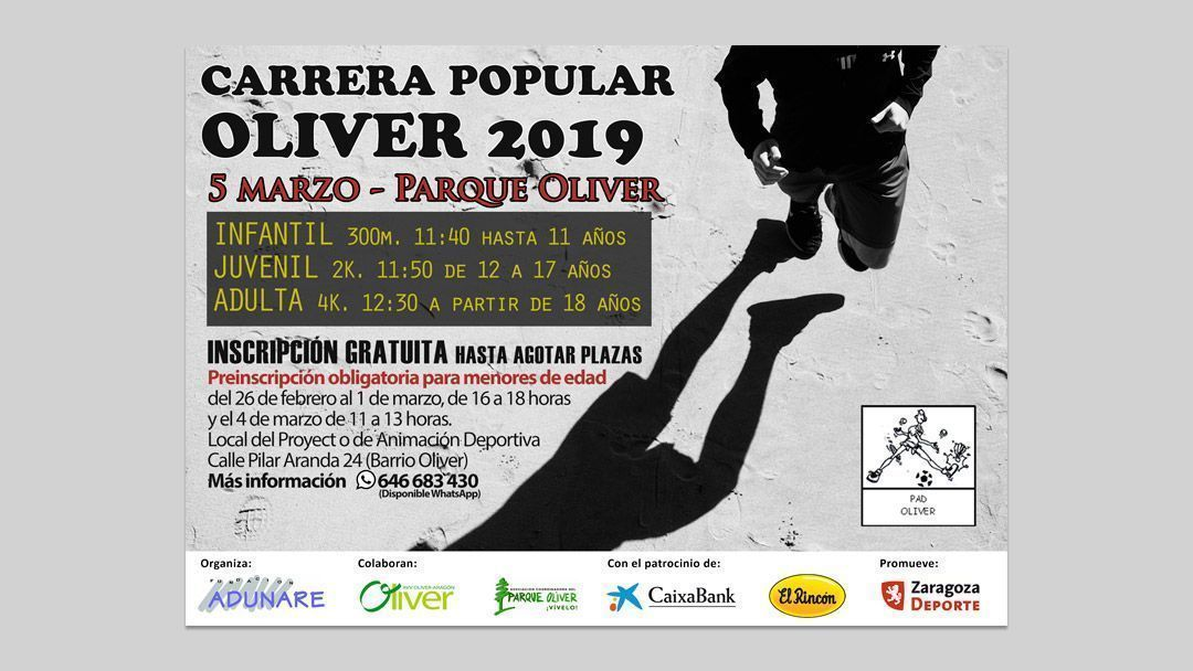 Carrera Popular Oliver 2019