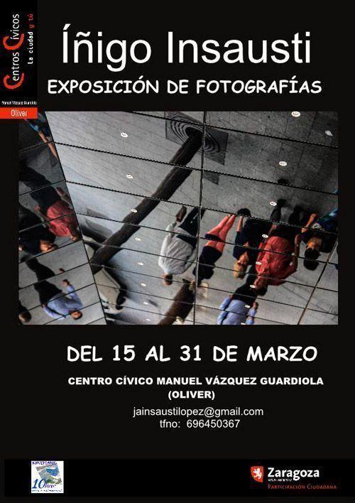 Exposición Fotografía Insausti - Centro Cívico Oliver