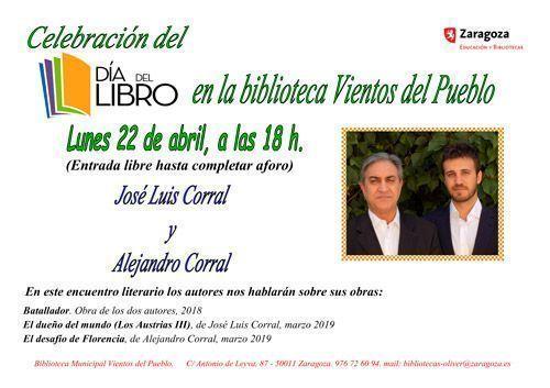 """Día del Libro 2019 en la Biblioteca """"Vientos del Pueblo"""" de Oliver"""