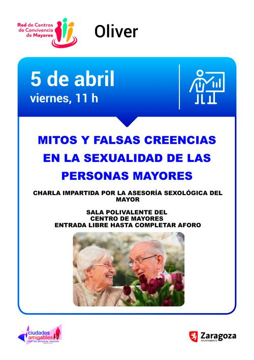 Centro de Convivencia de Mayores Oliver: Actividades Abril 2019
