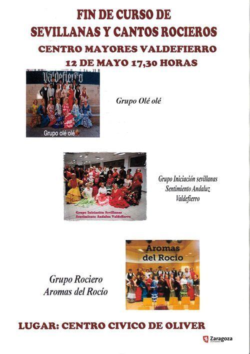 Centro Cívico Oliver Actividades Mayo 2019