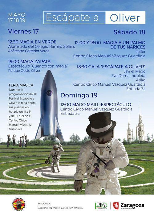 "III Festival de Magia ""Escápate a Oliver"""