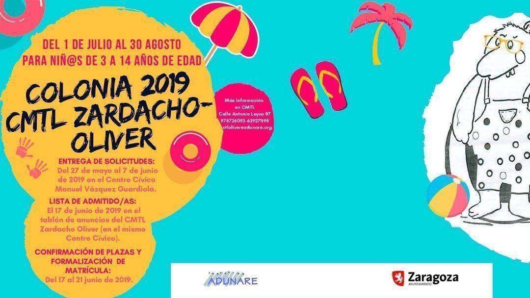 Colonia de verano 2019 CMTL Zardacho-Oliver