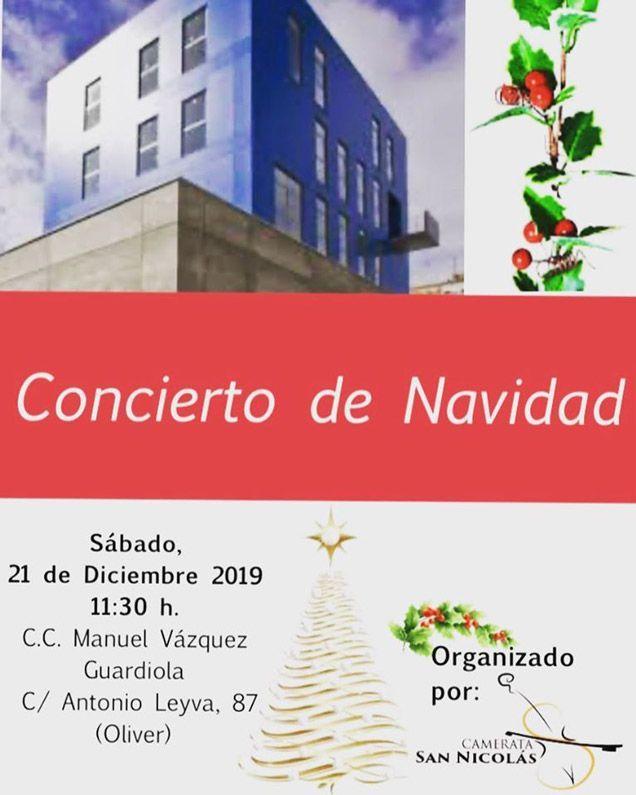 Concierto de Navidad Centro Civico Oliver Actividades de Diciembre 2019