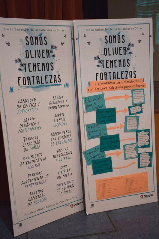 Calendario de actividades de la Red de Fortalezas de Oliver