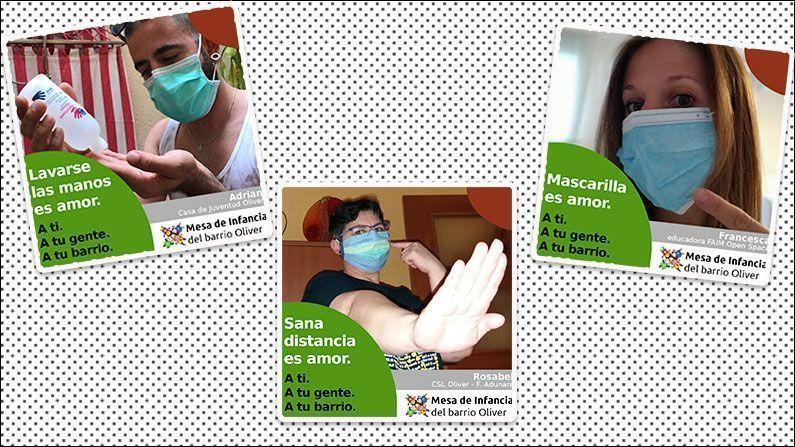 La Mesa de Infancia promueve las medidas sanitarias para la Covid-19