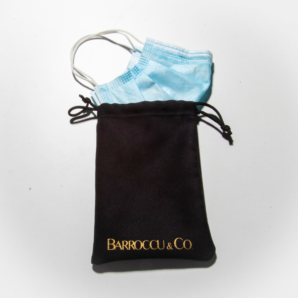 Face Mask Storage Pouch