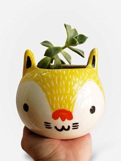 vaso-artesanal-gato-amarelo