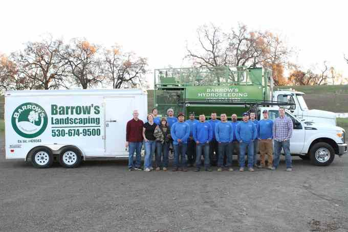 Barrow's Landscaping Team