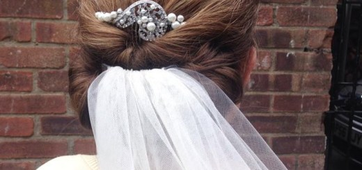 Simplistic yet beautiful Hair up for a Bride Norfolk