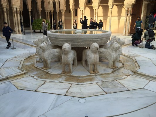 Fountain Representing Tribes of Israel