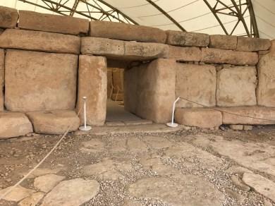Entrance to Hagar Qim