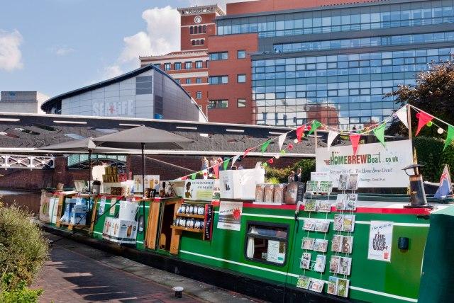The Home Brew Boat Birmingham