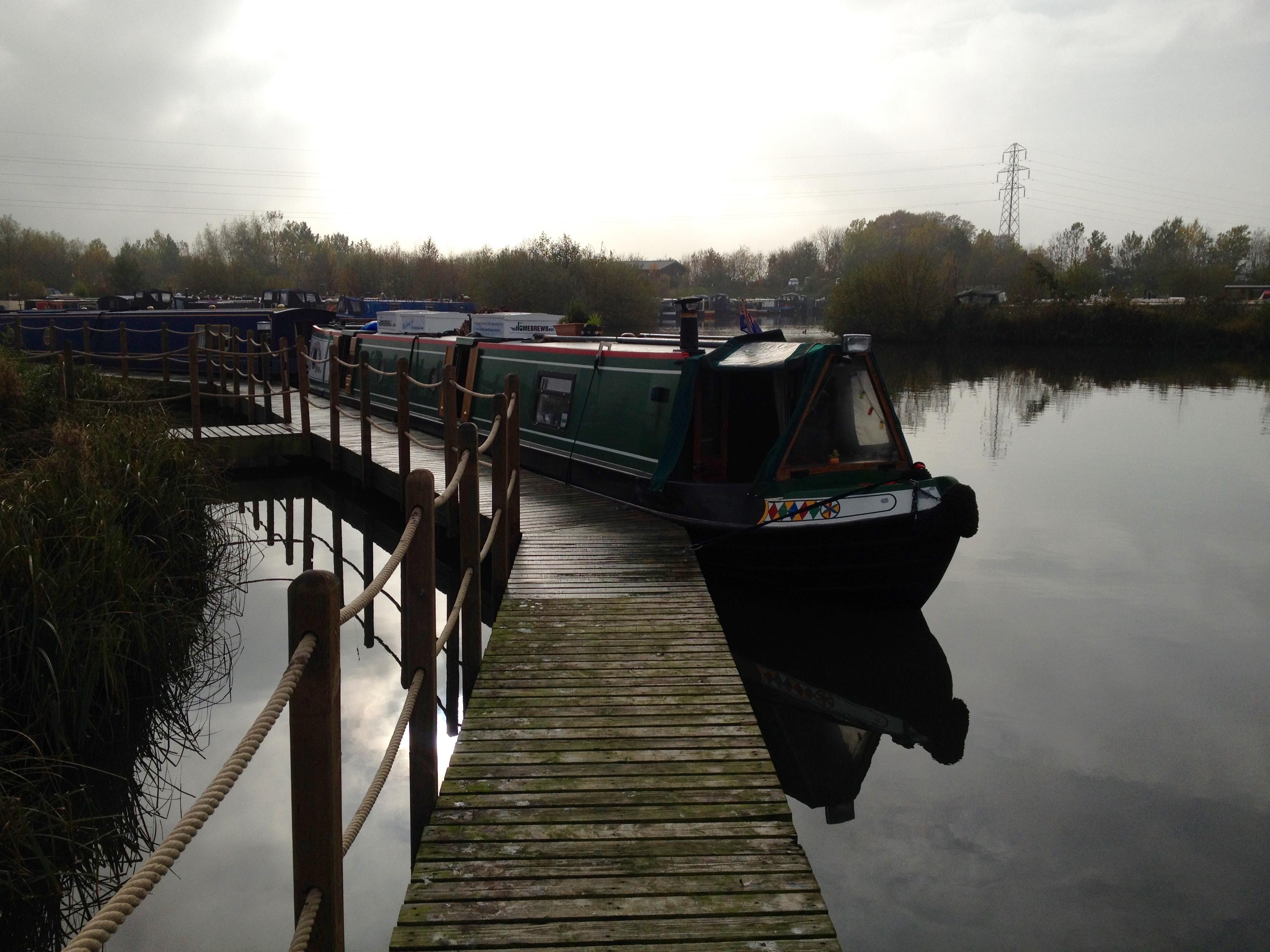 The Home Brew Boat at Mercia Marina