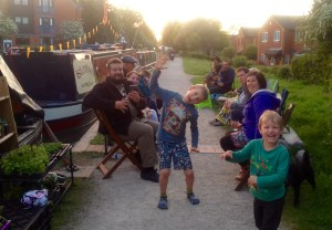 Fazeley Floating Market Saturday night boaters party