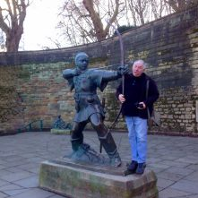 Robin Hood, the infamous Nottingham outlaw