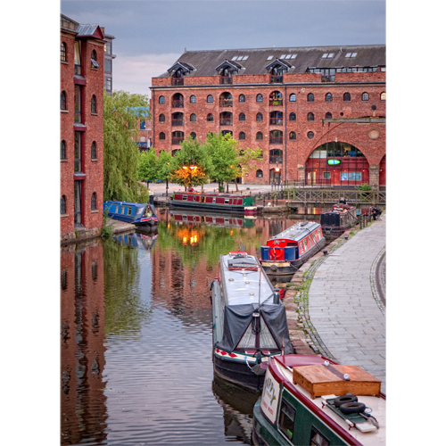Castlefield Basin Manchester The Bridgewater Canal