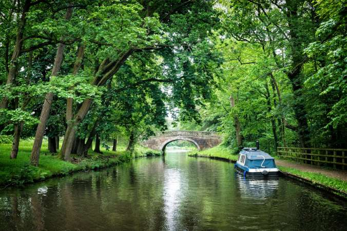 Ellel Grange Bridge, Lancaster Canal, by Barry Teutenberg