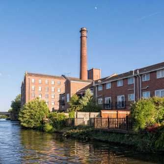 The converted mill building at Burscough