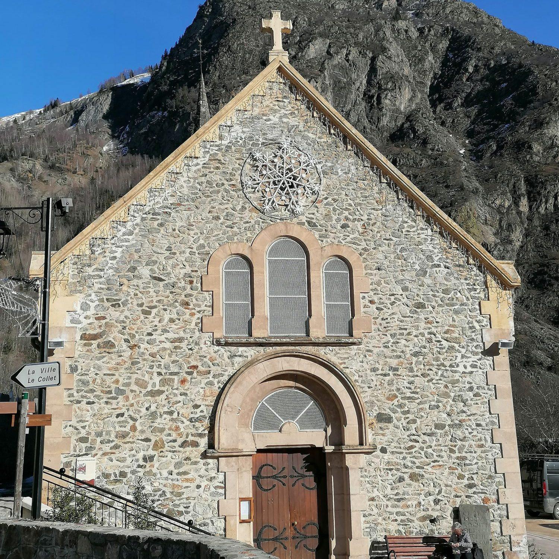 Venosc church