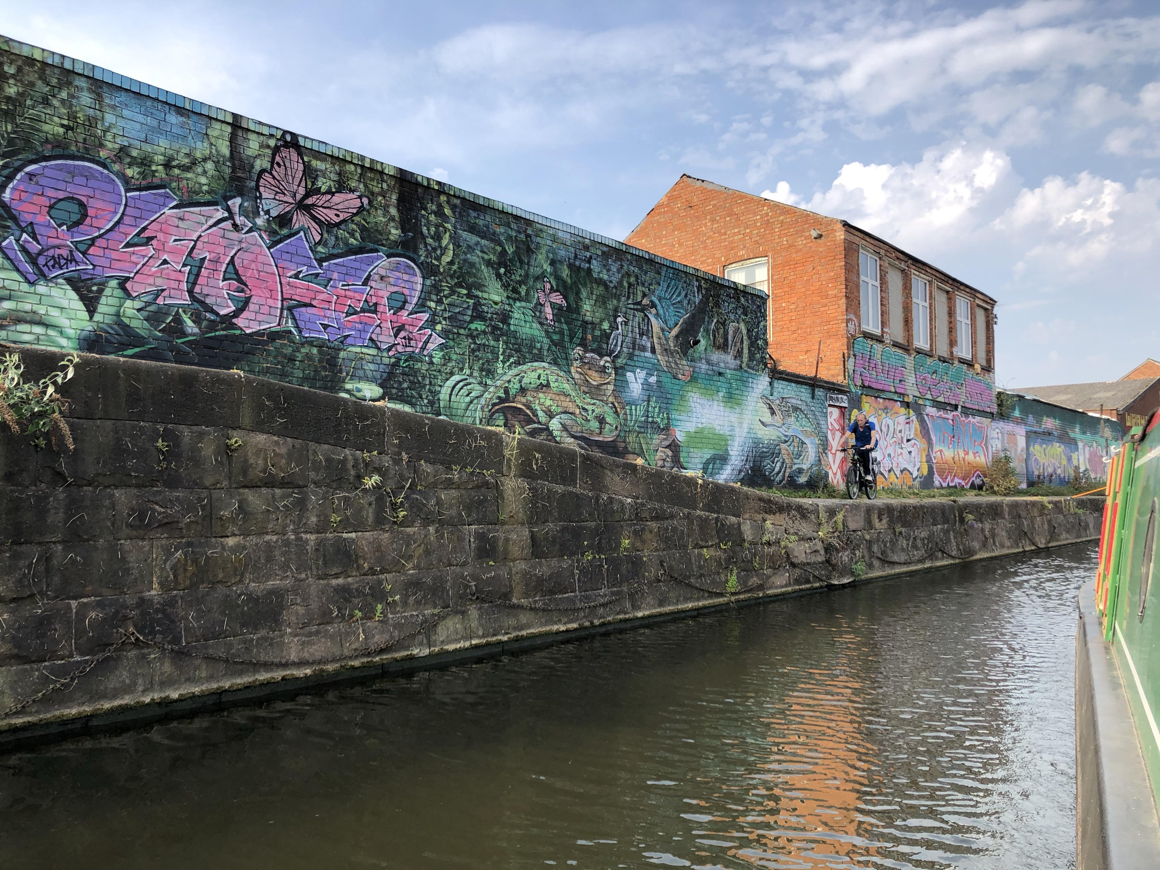 Leicester Graffiti August 2020
