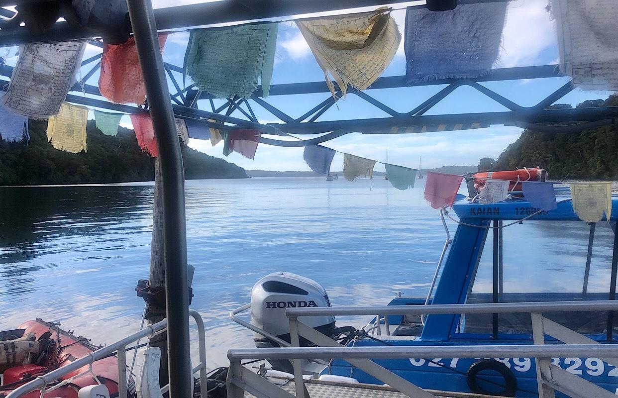 Ulva Island ferry