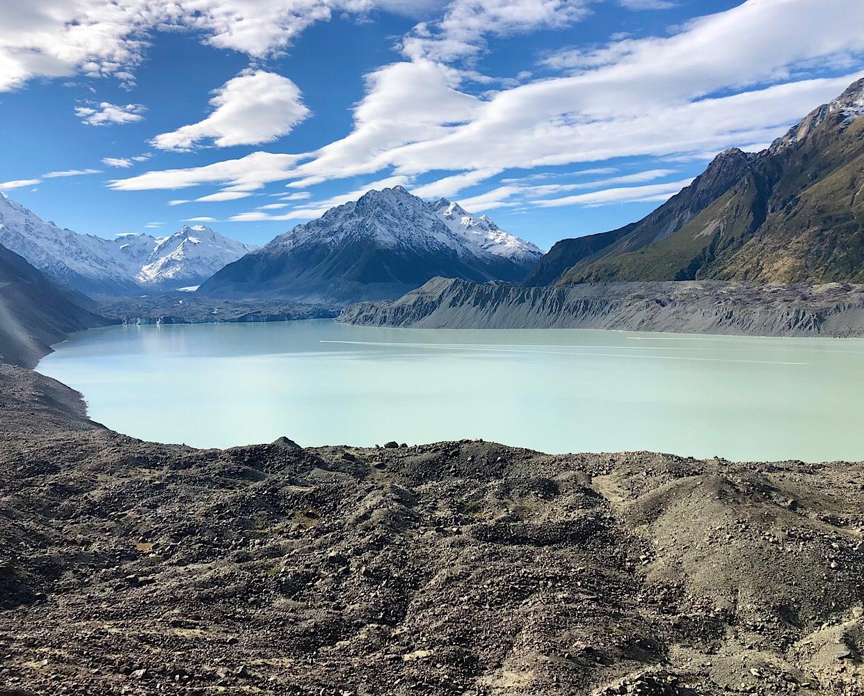 Tasman Glacier Lookout April 2021