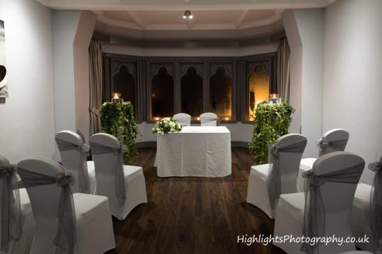 Cadbury House Hotel - Wedding Room