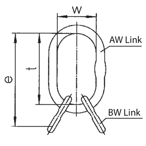 VW Master Link Assembly Drawing