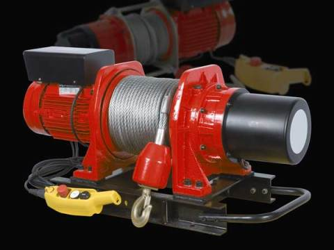 Electric Winch Button