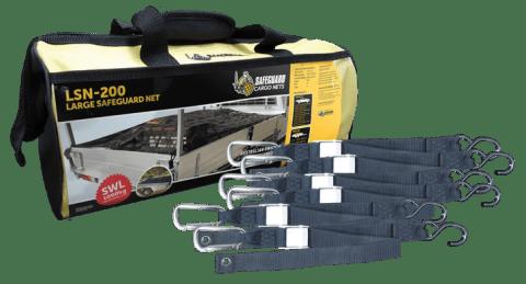 LSN-200 Large Net Storage Bag & Straps