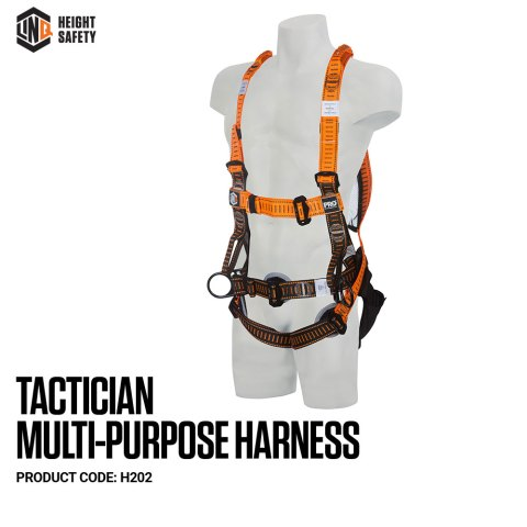 H202 LINQ Tactician Multi-Purpose Harness on Dummy SIDE