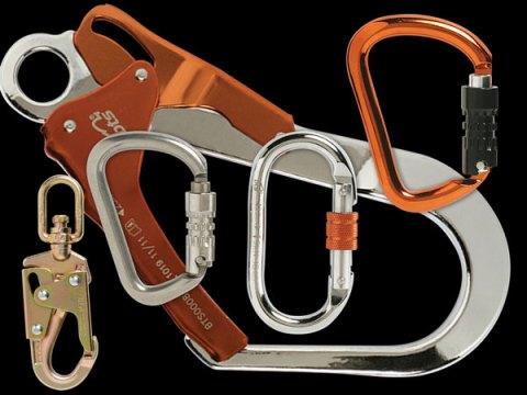 Safety Hooks & Karabiners Button Hero