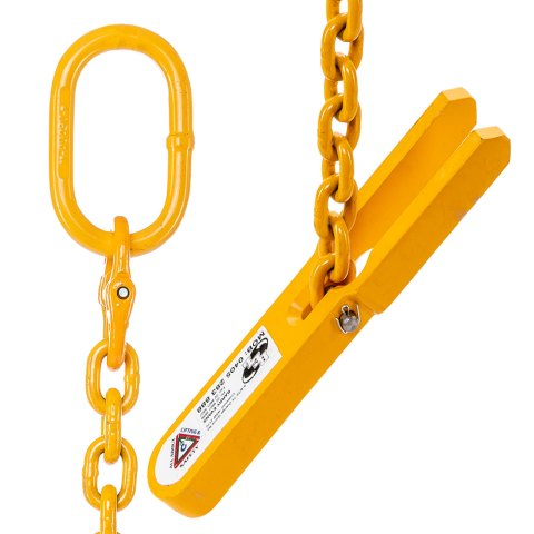 Toggle Type Pipe Lifter with 8mm x 1m chain sling Ends