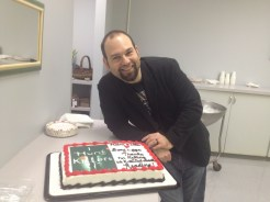 Me with KILLERS Cake.