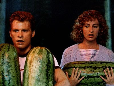 Why we carry watermelons?