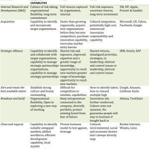 Organizational Innovation Strategies