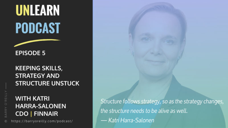 Keeping Skills, Strategy and Structure Unstuck with Katri Harra-Salonen