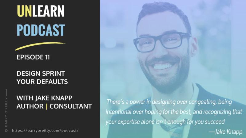 Design Sprint Your Defaults with Jake Knapp