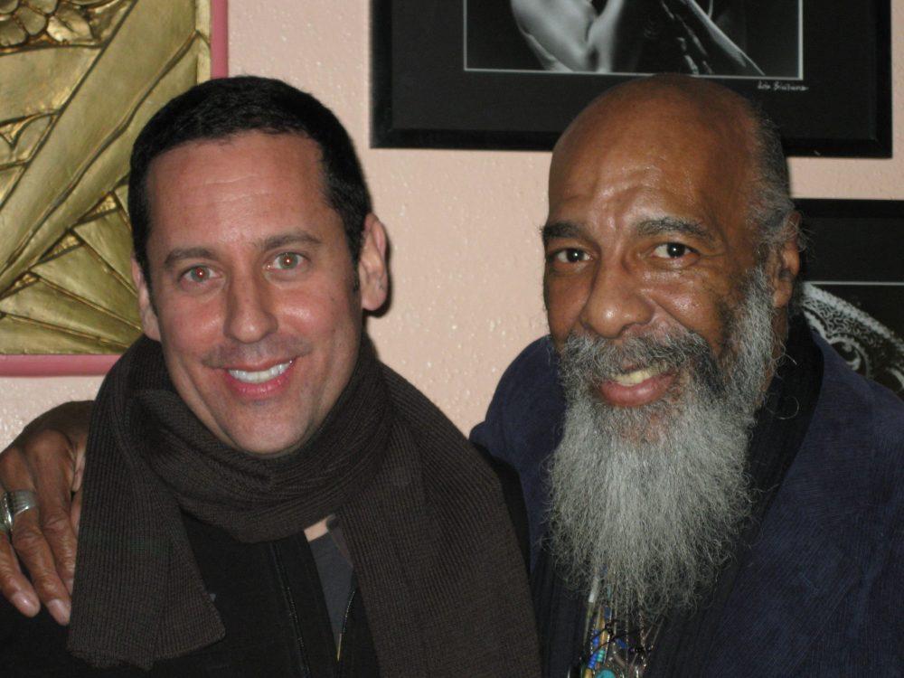 Richie Havens and Barry Shapiro