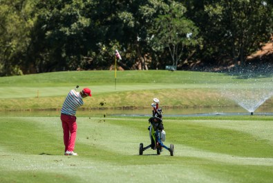 Approach Shot at The CGGU Northern Amateur Golf Tournament