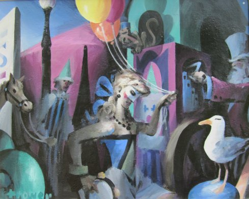 Circus by Barry Trower (2009).