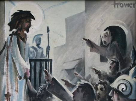 Ecce Homo by Barry Trower (1990).