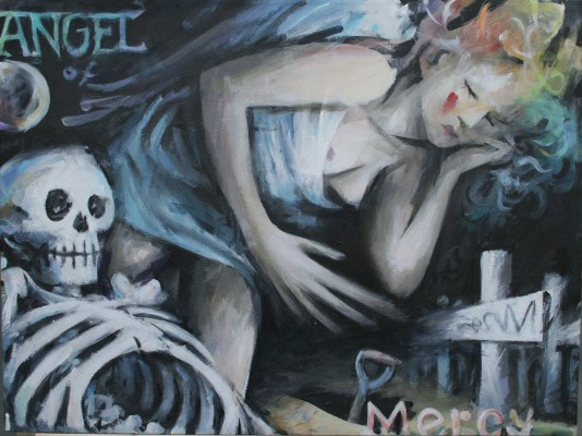 Angel of Mercy by Barry Trower (2012).