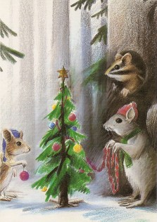 Christmas in the Woods by Barry Trower.