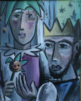Jester and King by Barry Trower (2000).