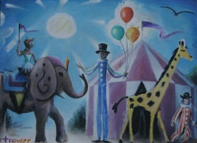 Little Circus by Barry Trower (2014).