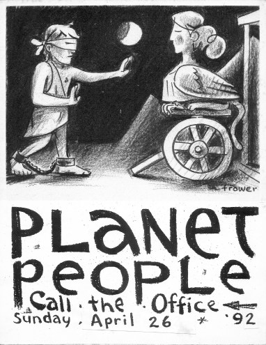 Planet People Sphinx by Barry Trower (1992).