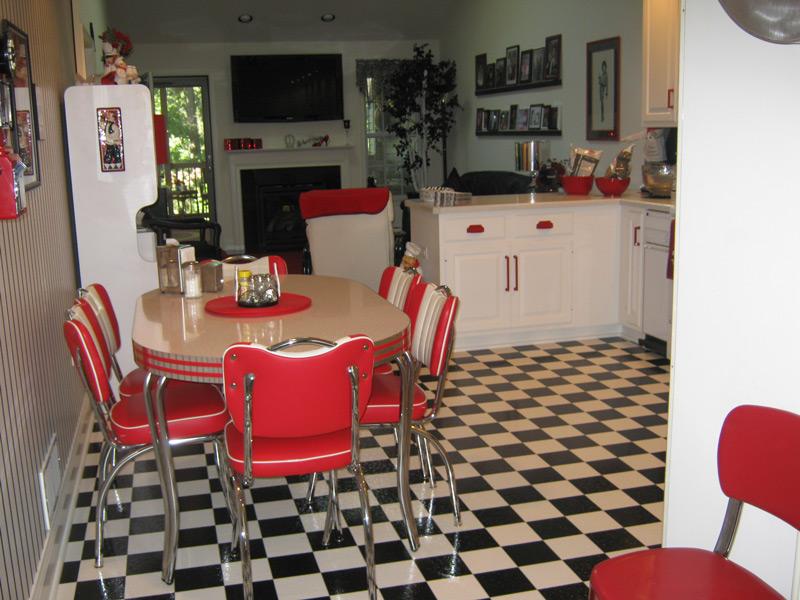 Retro Kitchen Dinette Set