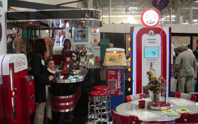 Retro Trade Show Booth – Capital Home Show